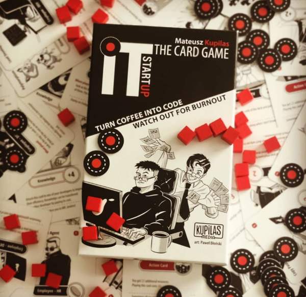 IT Startup - The Card Game (just the base game)