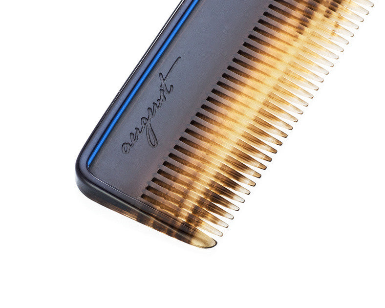 AUGUST GROOMING Italian made comb in Ink