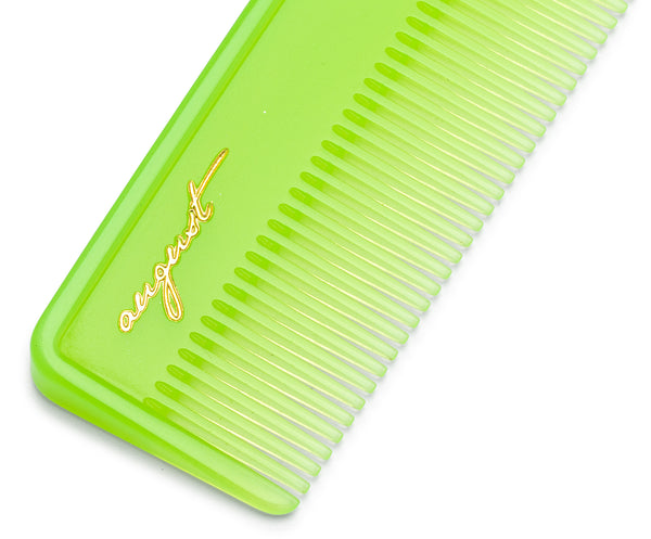 Pocket Comb in Lime