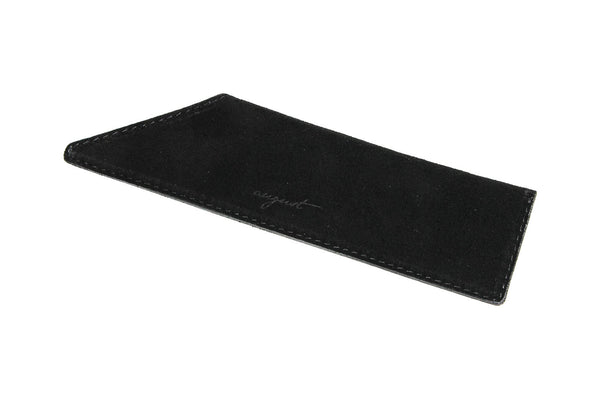 Black Suede Case for Vanity Comb