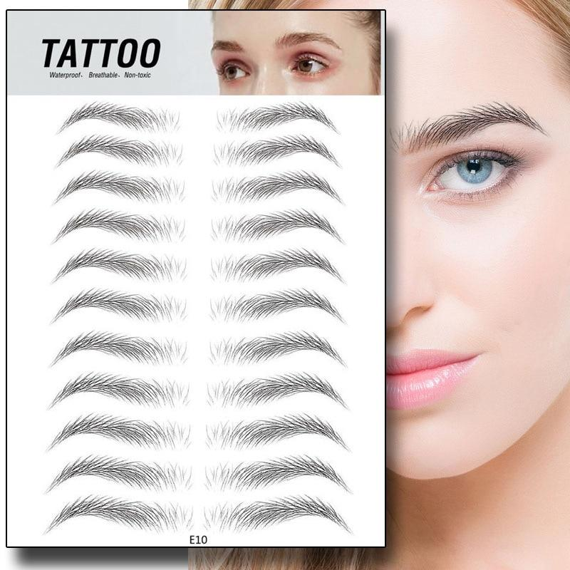 Natural 4D Eyebrow Tattoo Sticker
