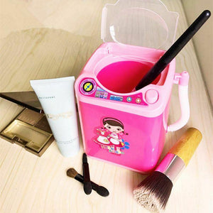 Mini Washing Machine Makeup Brush Cleaner