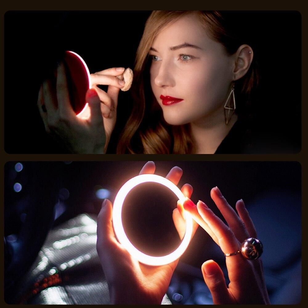 Portable LED Makeup Mirror + Wireless Charger - Magic Momma