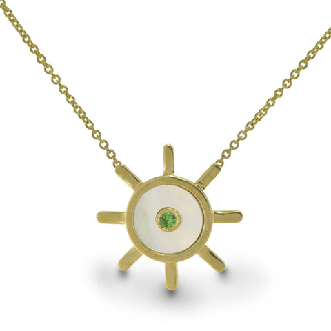 Captain of my Fate- Limited Edition - 14k Gold Necklace