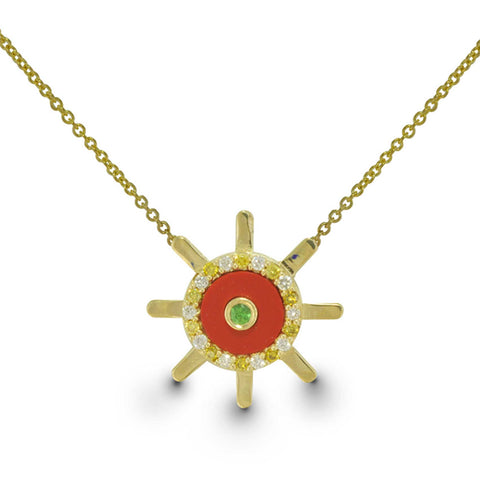 Captain of my Fate - Limited Edition - 14k Gold Necklace