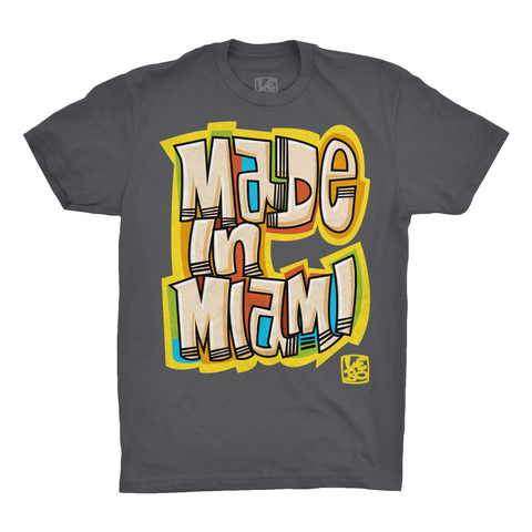 Lebo Art - Made in Miami - Men's T-Shirt