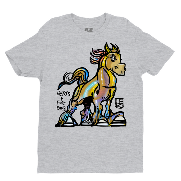 Lebo Art - Always and Forever  - Kids T-Shirt