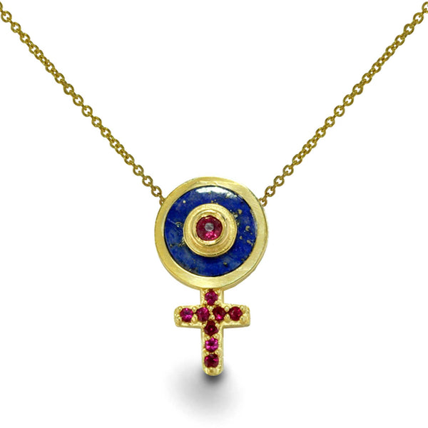 Ode To The Goddess - Limited Edition - 14k Gold Necklace