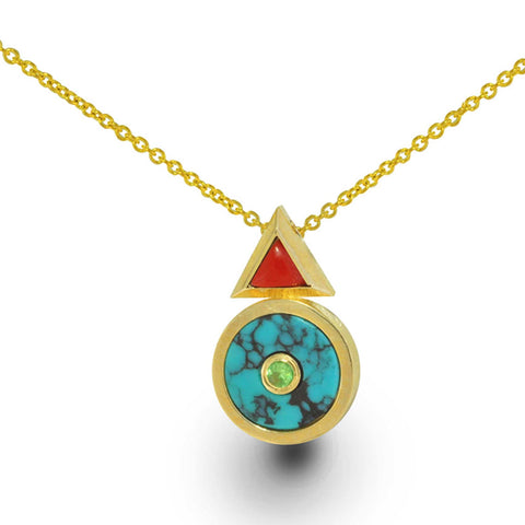 The Hero Within - Limited Edition - 14k Gold Necklace