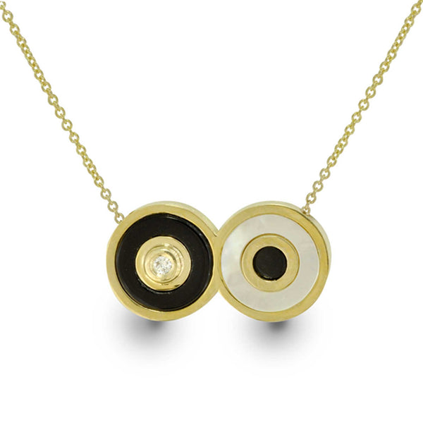 The Eyes of God - Limited Edition - 14k Gold Necklace