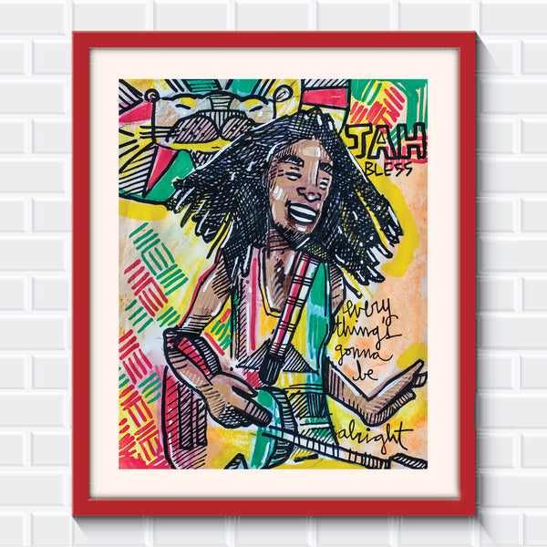 Bob Marley - Global Rhythms and Cosmic Vibrations - Limited Edition Sketchbook