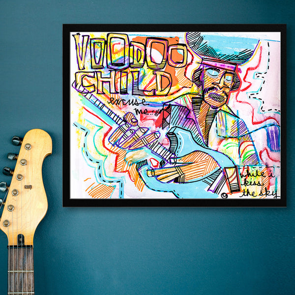Voodoo Child Limited Edition Sketchbook