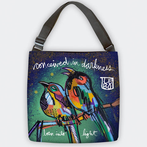 Born Into Light - Tote Bag