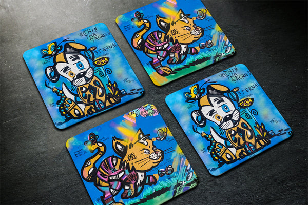 Within the Sacred Eternal - Coasters