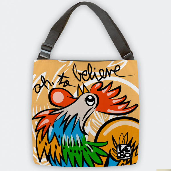Oh To Believe - Tote Bag