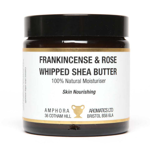 Amphora Aromatics Frankincense & Rose Whipped Shea Butter