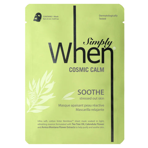 When - Simply When Cosmic Calm Mask