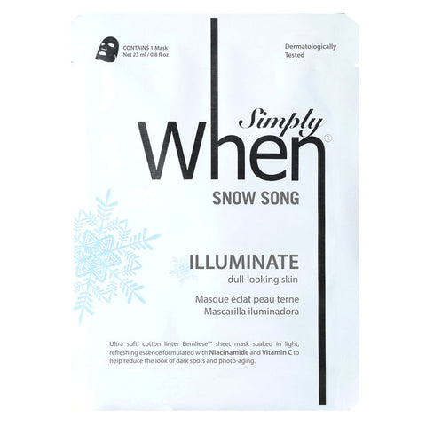 When - Simply When Snow Song Mask
