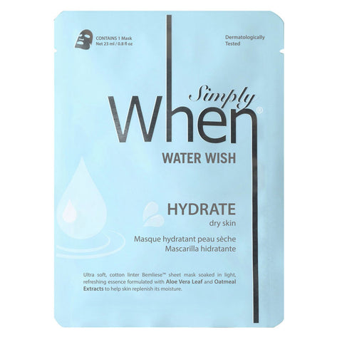 When - Simply When Water Wish Mask