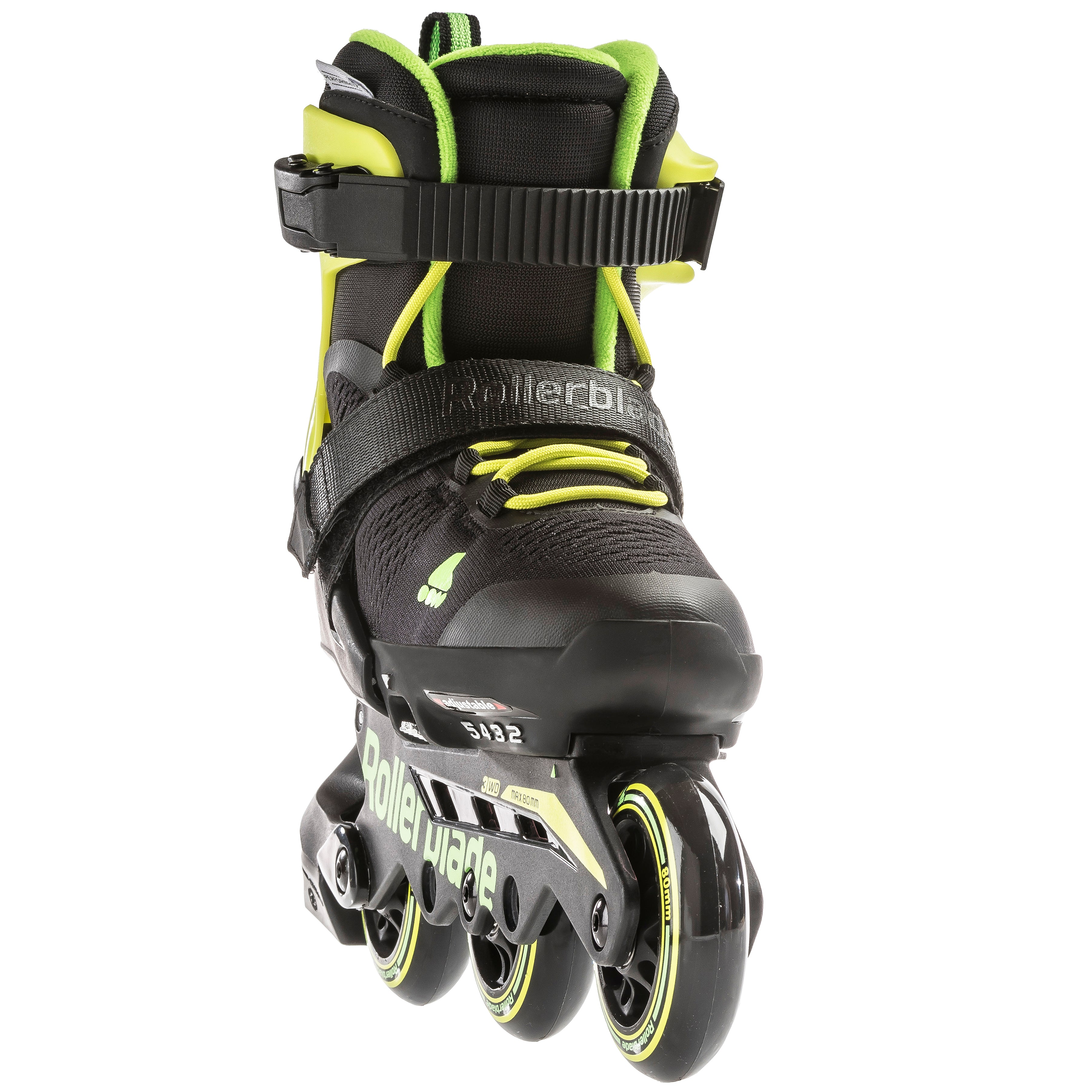 Rollerblade Unisex Youth MICROBLADE Free 3WD Inline Skates Anthracite//Lime 230