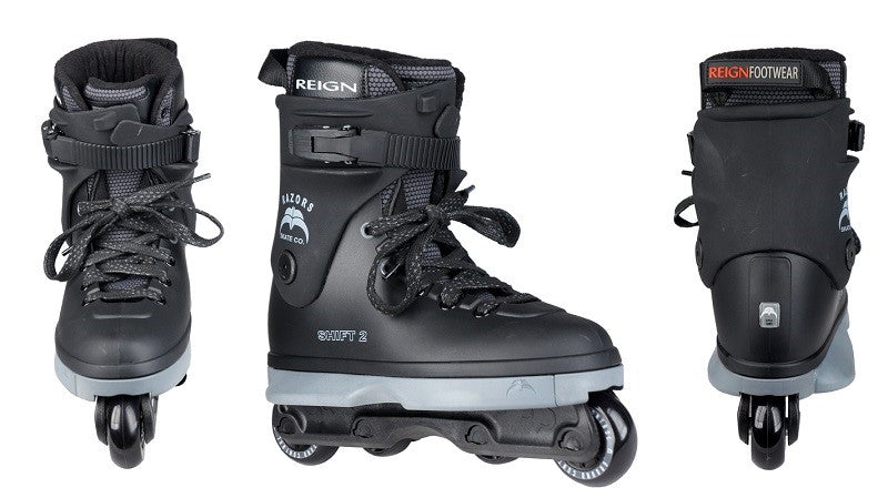 Inline-Skates Razors Shift 2 Aggressive Inline Skates Mens 7.0 NEW