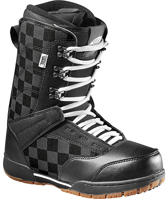 7fc53e93427beb Vans Mantra Snowboard Boots Black White Size 8 Only Sale