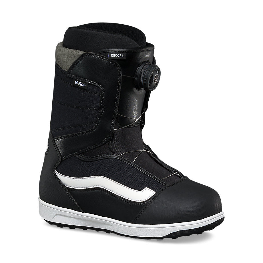 1a91b11679 Vans Youth Encore Snowboard Boots Black White Size 6 Only Sale