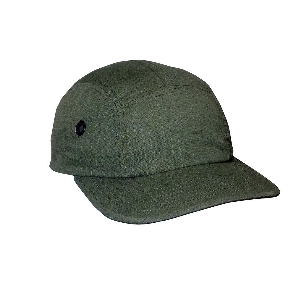 7ee45364027aa Rothco 5 Panel Rip-Stop Military Street Cap Olive