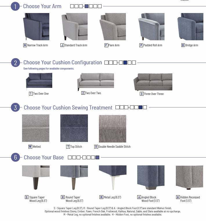 Custom Comfortable High Quality USA Made Furniture Store Indianapolis