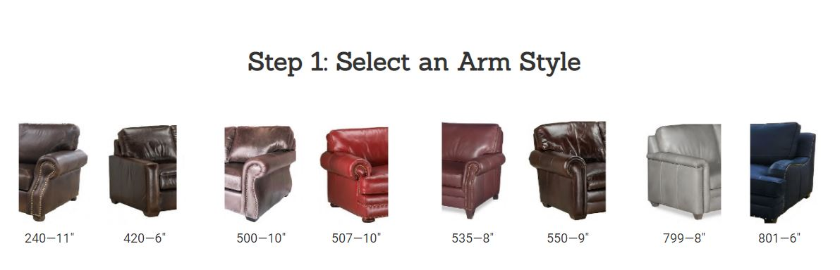 Custom Leather Design Your Own High Quality USA Comfortable  Furniture Stores Indianapolis HomePlex Furniture