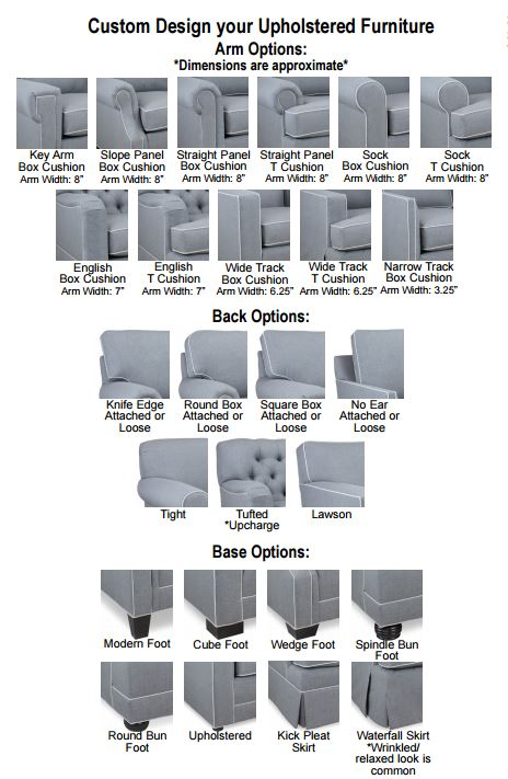 Design Your Own Pinnacle Chair At HomePlex Furniture Featuring USA Made  Quality Furniture