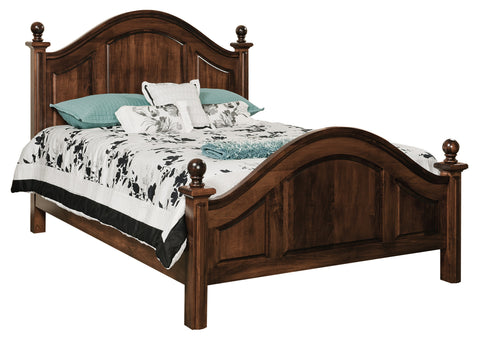 ADRIANNA BED Collection Solid Wood Bedroom furniture store Indianapolis Carmel Indiana