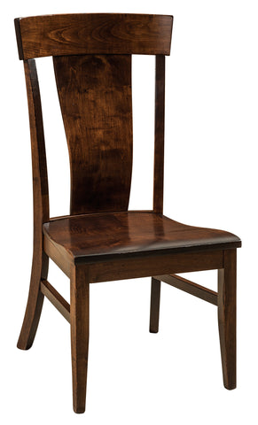 Solid Hardwood Dining Room Baldwin Chair - HomePlex Furniture Featuring USA Made Quality Furnitur