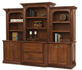 Solid Hardwood Paris Series Office Furniture HomePlex Furniture Indianapolis In