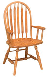 Solid Hardwood Dining Room Bent Paddle Chair - HomePlex Furniture Featuring USA Made Quality Furniture