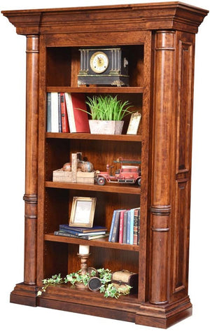 Bookcase Solid Hardwood Paris Series Office Furniture HomePlex Furniture Indianapolis In