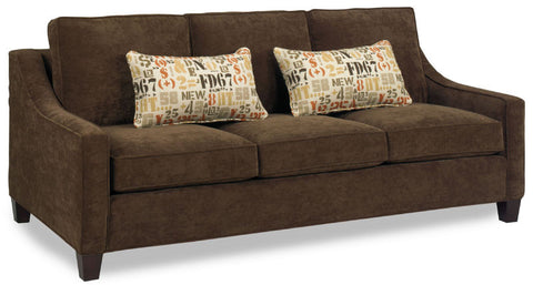 Boston Pinnacle Sofa at HomePlex Furniture Featuring USA Made Indianapolis Indiana