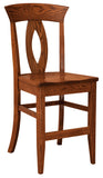 Solid Hardwood Dining Room Brookfield Chair - HomePlex Furniture Featuring USA Made Quality Furniture