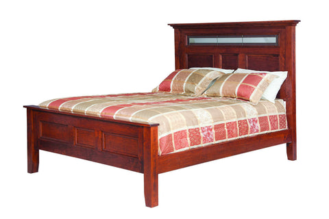 Brooklyn Collection Solid Hardwood Bed At HomePlex Furniture USA Made  Quality Furniture