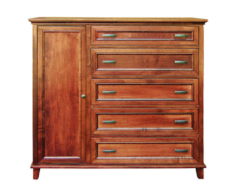 Bon Brooklyn Collection Solid Hardwood Gentlemans Chest At HomePlex Furniture  USA Made Quality Furniture