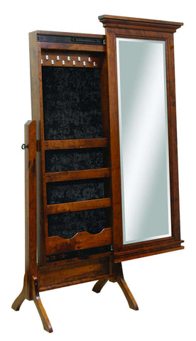 Brooklyn Collection Solid Hardwood Mirror At HomePlex Furniture USA Made  Quality Furniture