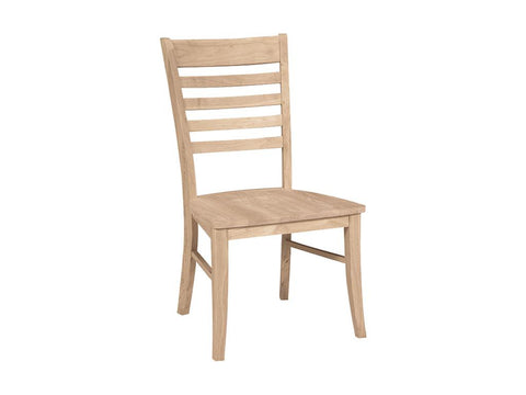 Solid Hardwood Dining Room Roma Chair - HomePlex Furniture Featuring USA Made Quality Furnitur