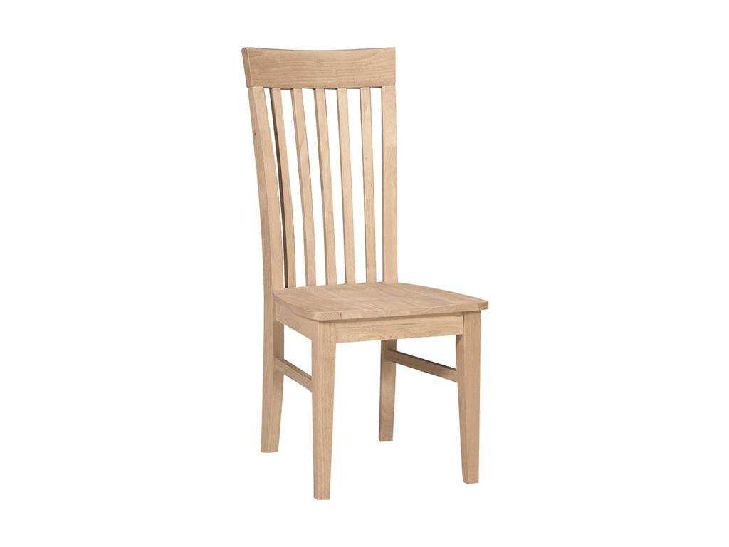 Solid Hardwood Modern Mission Dining Room Chair – HomePlex Furniture