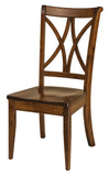 Solid Hardwood Dining Room Callahan Chair - HomePlex Furniture Featuring USA Made Quality Furniture