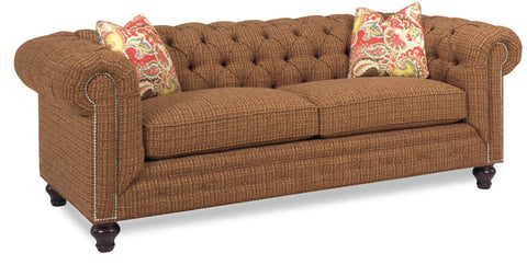 Chesterfield Pinnacle Sofa at HomePlex Furniture Featuring USA Made Indianapolis Indiana small