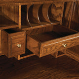 Classic Farmer's Roll Top Desk Solid Wood Office furniture store Indianapolis Carmel Indiana