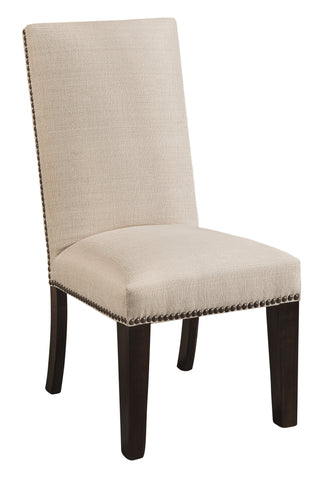Solid Hardwood Dining Room Corbin Chair - HomePlex Furniture Featuring USA Made Quality Furniture