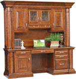 Credenza Solid Hardwood Paris Series Office Furniture HomePlex Furniture Indianapolis In