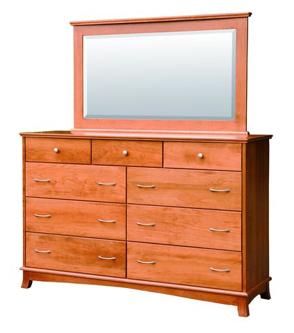 Crescent Collection Bed Solid Hardwood Tall Dresser at HomePlex Furniture USA made Quality Furniture (3)