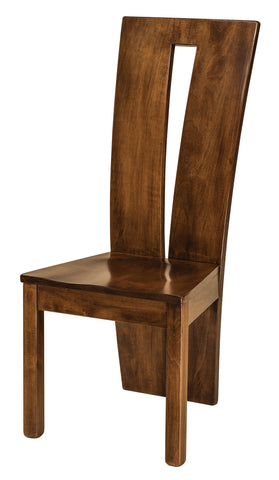 Solid Hardwood Dining Room Delphi Chair - HomePlex Furniture Featuring USA Made Quality Furniture